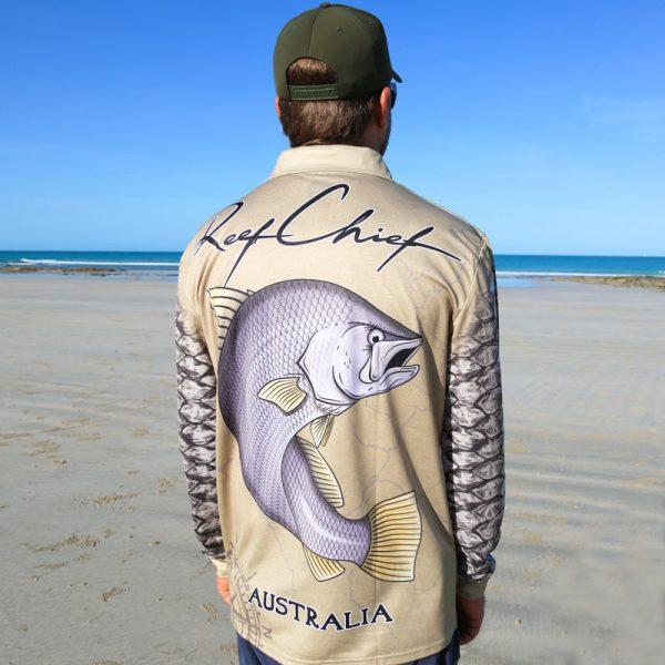 Barramundi Fishing Shirt Back