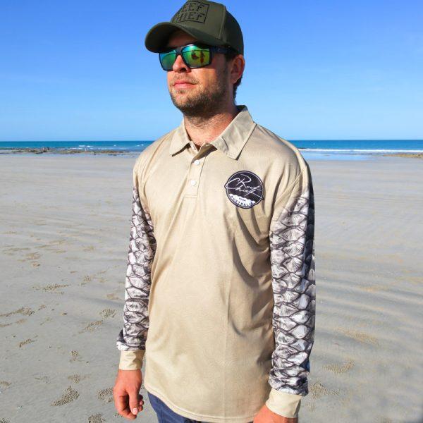 Barramundi Fishing Shirt Front