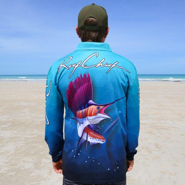 Sailfish Fishing Shirt Back
