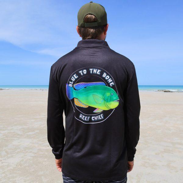 Bluebone Fishing Shirt Back