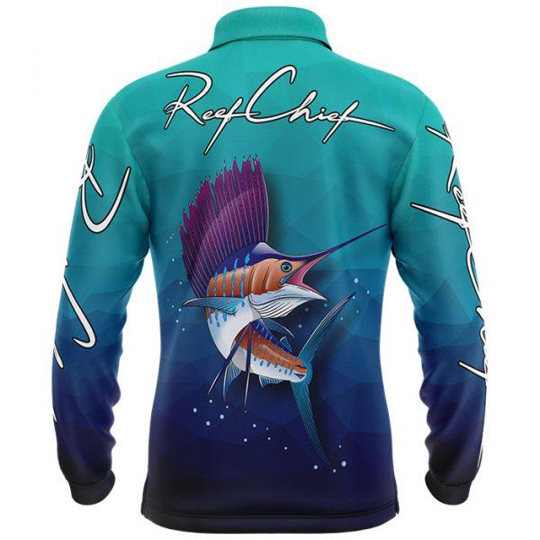 kids sailfish fishing shirt