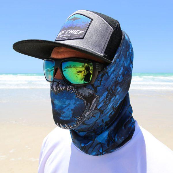 Shark Jaw Face Shield Side