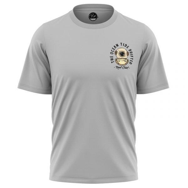 ocean tide drifter t-shirt front