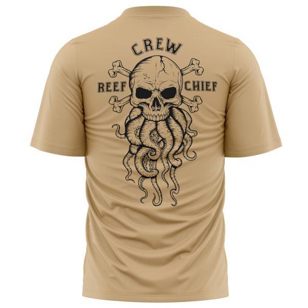 octopus skull t-shirt front view
