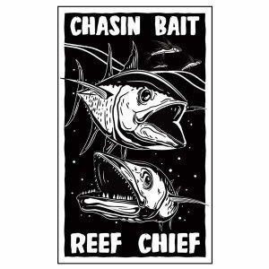 chasin bait sticker